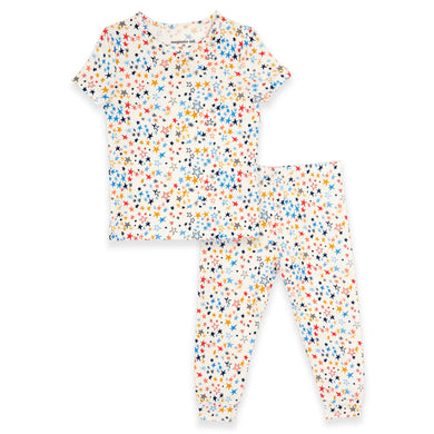 Starburst Modal Magnetic 2 Piece Toddler PJs