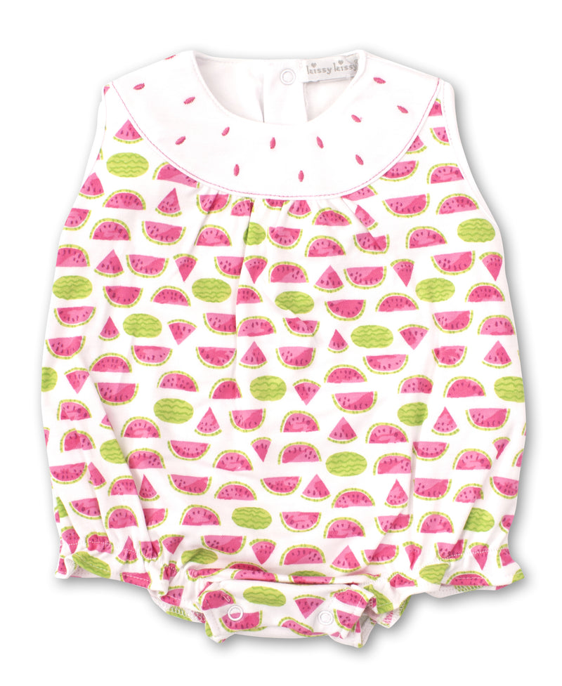 Kissy Kissy Whimsical Watermelons Bubble