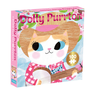 Dolly Purrton Music Cat Puzzle