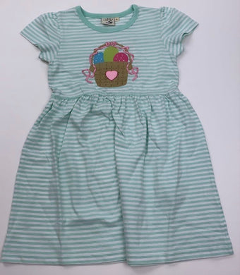 Easter Basket Mint Knit Dress