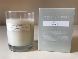 Magnolia Home - Glass Candle