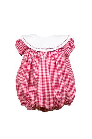 Magnolia Bubble - Red Gingham