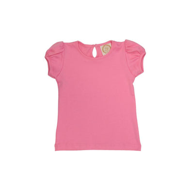 Pennys Play Shirt Short Sleeve - Hamptons Hot Pink