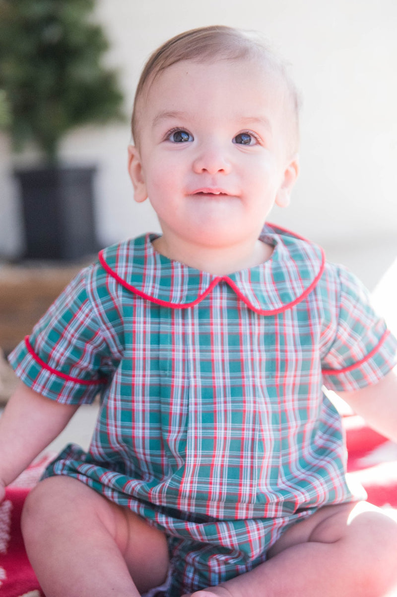 Peter Plaid Bubble // James & Lottie PRE-SALE