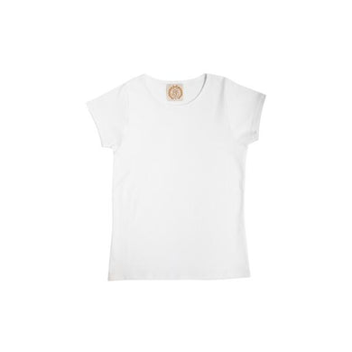 Plain Jayne Play Shirt - Worth Avenue White