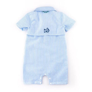Prodoh Seersucker Fishing Romper