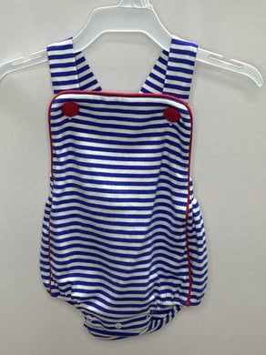 Isaac Sunsuit - Royal Blue Stripe