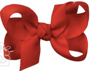 MED Grosgrain Bow (Multiple Colors Available)