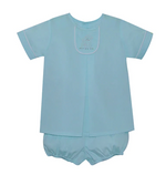 Seafoam Little Short Set