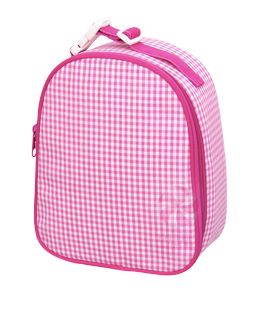 Hot Pink Gingham Gumdrop