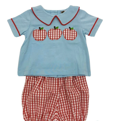 Apple A Day Boys Bloomer Set