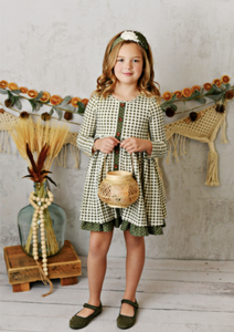 CHARLOTTE WILLOW GINGHAM DRESS