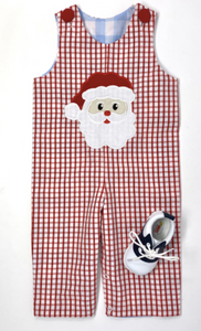 Santa/Lab Reversible Boys Longall