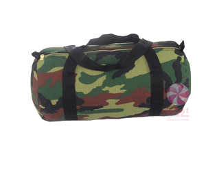 Woodland Seersucker Medium Duffel