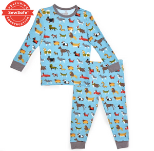 In-Dog-Nito Modal Magnetic 2pc Toddler Pajama