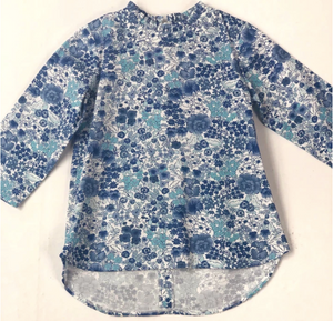 3/4 Sleeve Tucker Top - Shaffer Floral