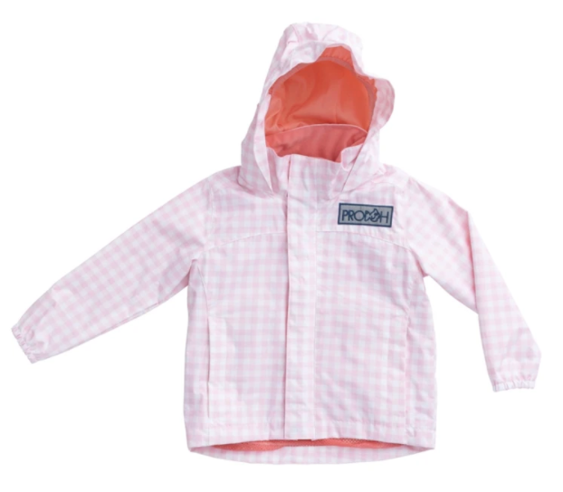 Girl's Water and Wind Reflective Jacket - Ballerina