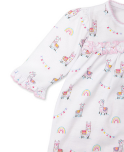 Fun-Loving Llama Playsuit