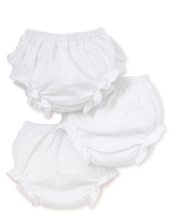 Kissy Basic Diaper Cover Set with TB - White
