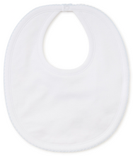 Kissy Basic Bib (White w/ Light Blue or Pink)