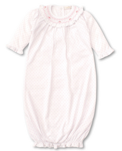 CLB Summer Bishop -Sack w/ Hand Smocking - Pink