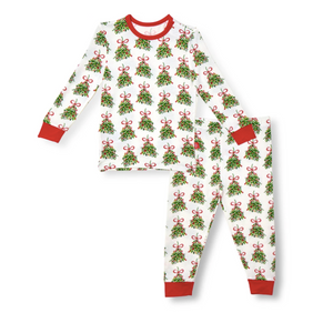Kiss Me Modal Magnetic 2pc Toddler Pajama Set