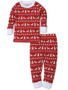 Christmas Deer- Pajama Set Snug