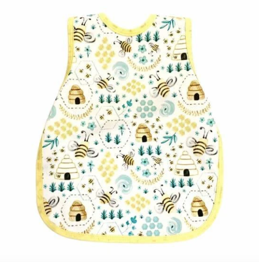 Busy Bees Toddler Bapron (6Mo-3T)