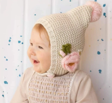 Natural Poppy Hat