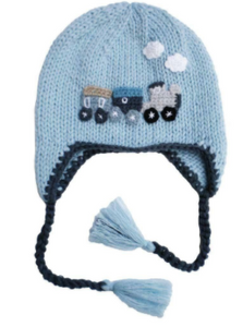 Blue Train Hat