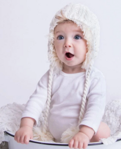Cozy Cream Lined Reversible Beanie