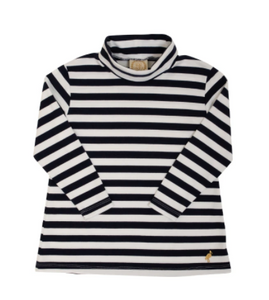 Tenley Tunic - Nantucket Navy Stripe/Gold