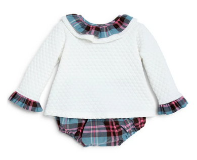 Holiday Georgina Bloomer Set - Tipton Plaid