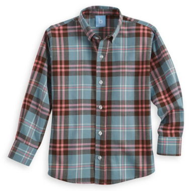 Tipton Plaid Button Down Shirt
