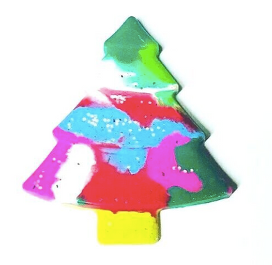 Large Christmas Tree Crayon