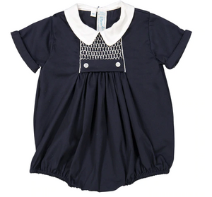 Chevron Smocked Creeper