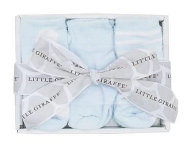 DOLCE LOLLIPOP BOX OF SOCKS - New Blue 0-12Mo