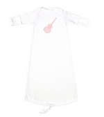 JJ Applique Newborn Gown (7 Styles Available)