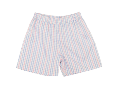 Shelton Shorts - Sir Proper Signature Plaid/Park City Periwinkle