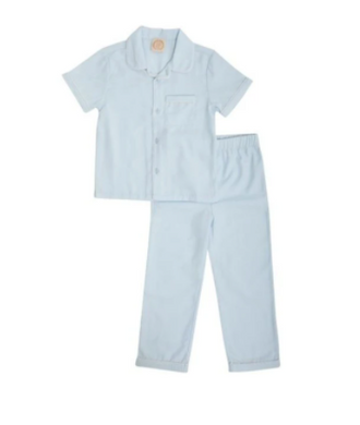 Locks Little Man Set - Buckhead Blue/Worth Avenue White