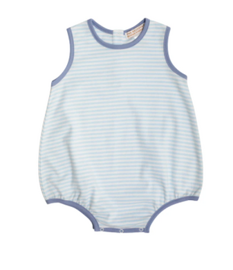 Patton Pima Play Bubble - Buckhead Blue Stripe/Park City Perwinkle