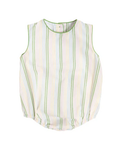 Benjamin Bubble - Rainbow Row Stripe/Grenada Green