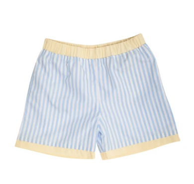 Shelton Broadcloth Shorts - Beale Street Blue Stripe/Bellport