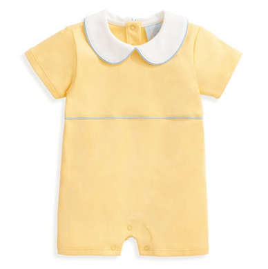 bella bliss Finn Pima Romper - Yellow