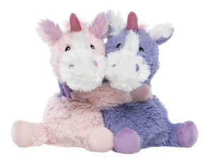 "Warmies® 9"" Hugs - Unicorns"