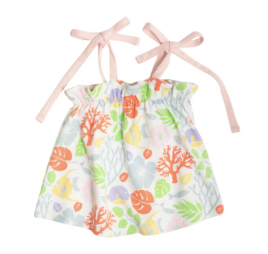 Laineys Little Top - Bimini Botanical/Palm Beach Pink