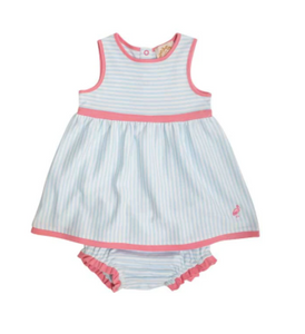 Eliza's Little Set - Buckhead Blue Stripe/Hamptons Hot Pink