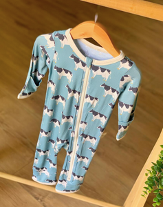 Blue Cows Coveralls