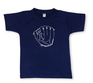Baseball Glove Short Sleeve Tee