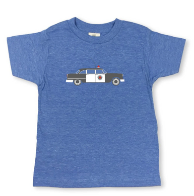 Police Car Short Sleeve Tee